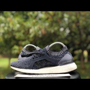 "Adidas Ultraboost X ""Navy/White"" Size 9"